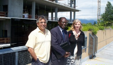 NGDI Organizes Roundtable and Pharmaceutical Sciences Building Tour for Dr. Clive Ondari from WHO